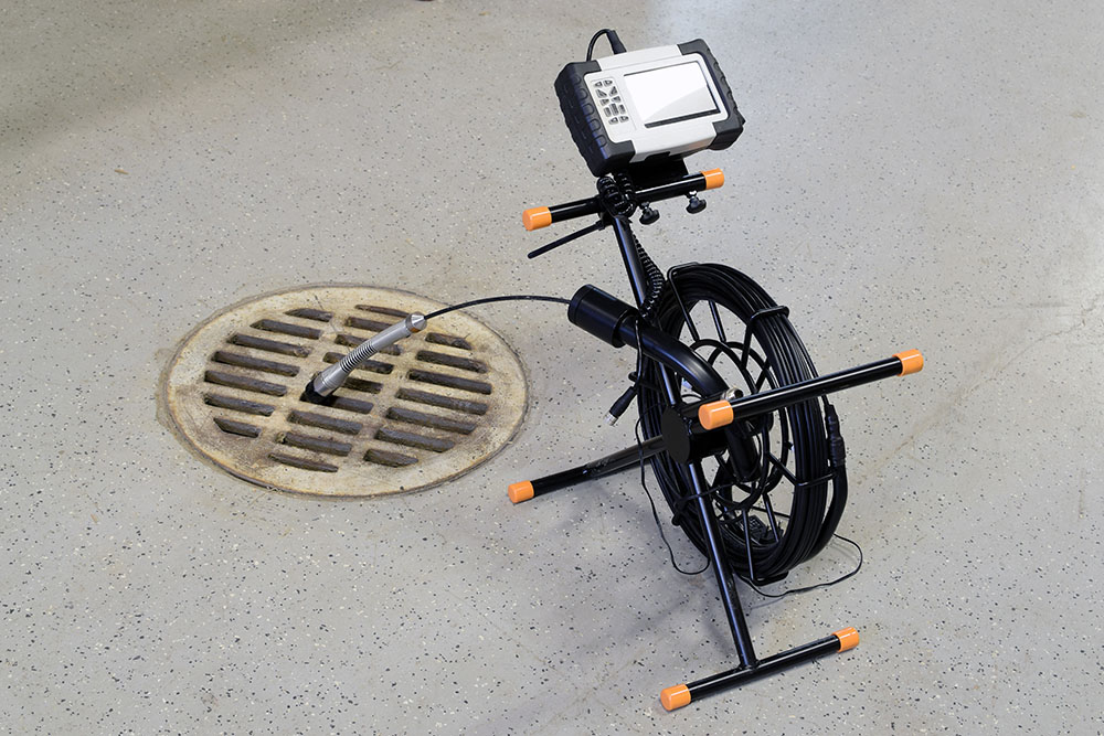 Sewer inspection camera.